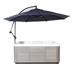 Essentials Spa Side Umbrella - Blue