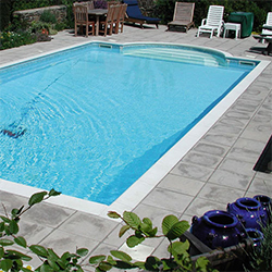 Swimmer Polymer Standard Pool<br>Kit - 20' x 10' x 48